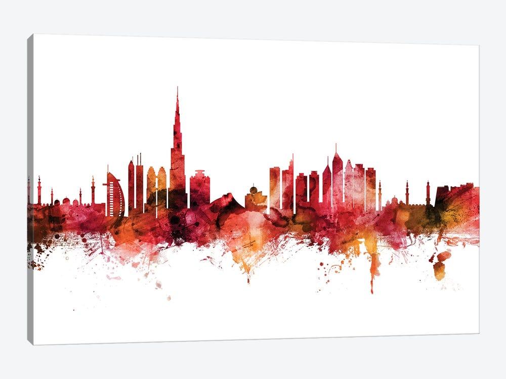 Dubai, UAE Skyline by Michael Tompsett 1-piece Canvas Art Print