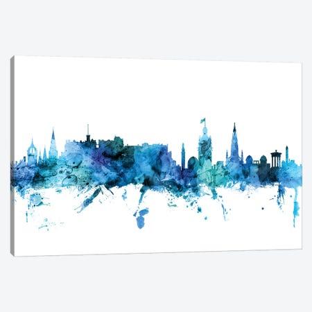 Edinburgh, Scotland Skyline Canvas Print #MTO1332} by Michael Tompsett Canvas Artwork