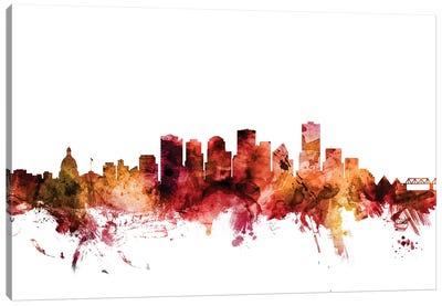 Edmonton, Canada Skyline Canvas Art Print