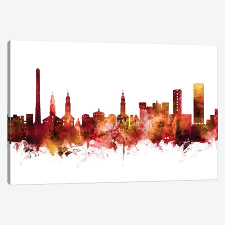 Erlangen, Germany Skyline Canvas Print #MTO1338} by Michael Tompsett Canvas Art