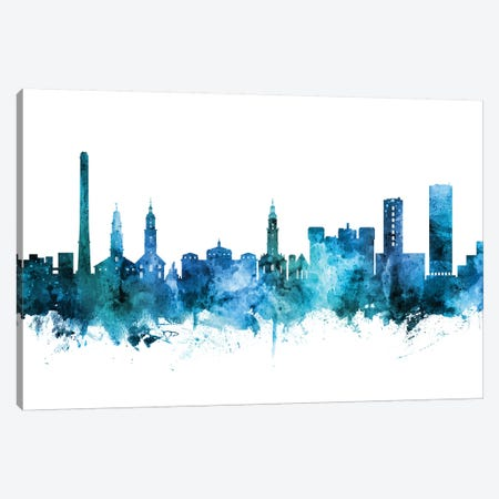 Erlangen, Germany Skyline Canvas Print #MTO1339} by Michael Tompsett Canvas Art