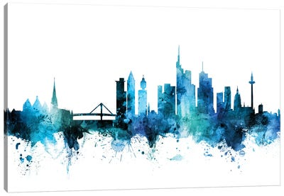 Frankfurt, Germany Skyline Canvas Art Print