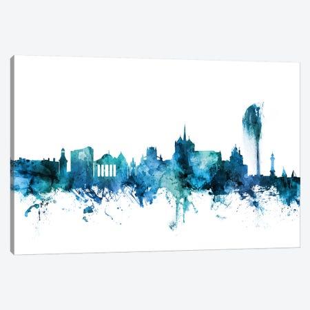 Geneva, Switzerland Skyline Canvas Print #MTO1359} by Michael Tompsett Canvas Art