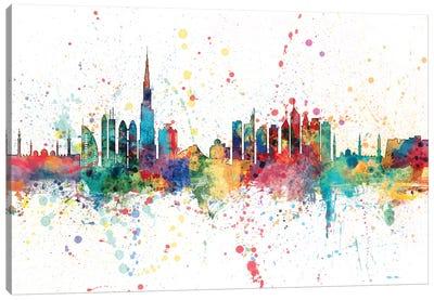 Dubai, UAE Canvas Art Print
