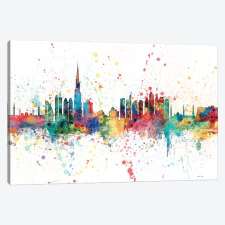 Dubai, UAE Canvas Print #MTO135} by Michael Tompsett Canvas Artwork