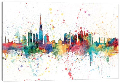 Dubai, UAE Canvas Art Print