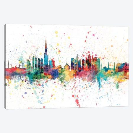 Dubai, UAE Canvas Print #MTO135} by Michael Tompsett Canvas Artwork