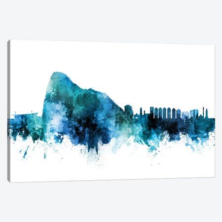 Gibraltar Skyline Canvas Print #MTO1360} by Michael Tompsett Art Print