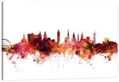 Glasgow, Scotland Skyline Canvas Art Print