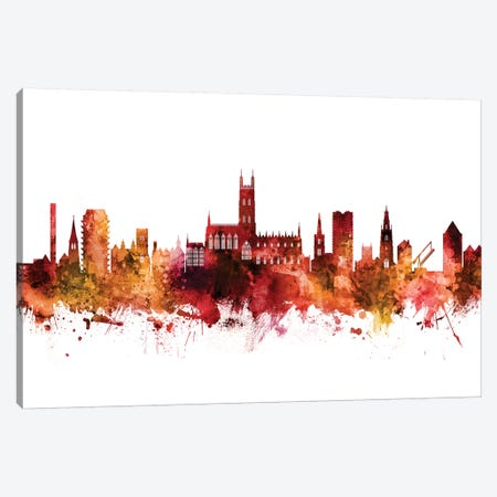 Gloucester, England Skyline Canvas Print #MTO1365} by Michael Tompsett Canvas Art