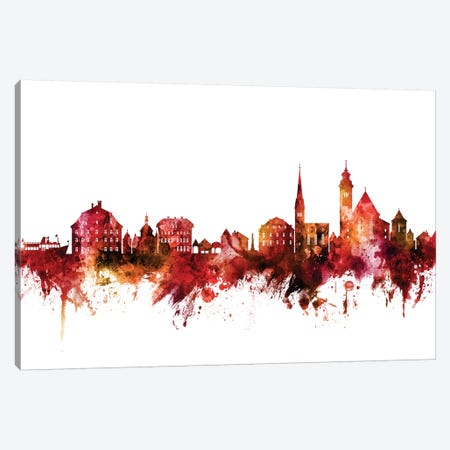Hallstatt, Austria Skyline Canvas Print #MTO1370} by Michael Tompsett Canvas Art
