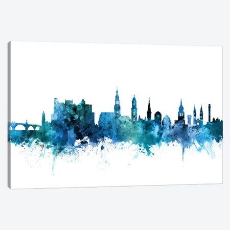 Heidelberg, Germany Skyline Canvas Print #MTO1379} by Michael Tompsett Canvas Art