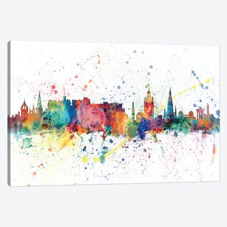 Edinburgh, Scotland, United Kingdom Canvas Print #MTO137} by Michael Tompsett Canvas Art