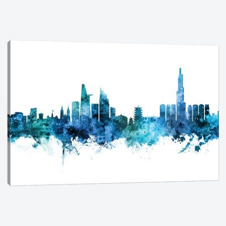 Ho Chi Minh City, Vietnam Skyline Canvas Print #MTO1382} by Michael Tompsett Art Print