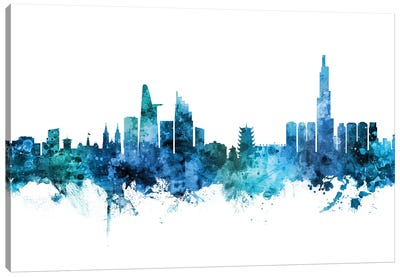 Ho Chi Minh City, Vietnam Skyline Canvas Art Print