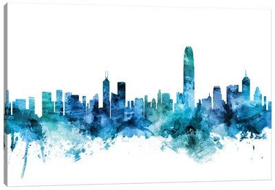 Hong Kong Skyline Canvas Art Print