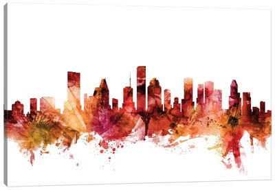 Houston, Texas Skyline Canvas Art Print