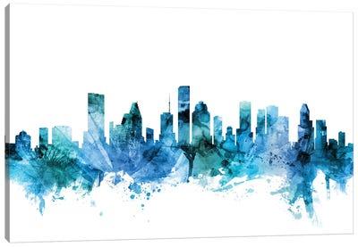 Houston, Texas Skyline Canvas Art Print