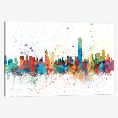 Hong Kong, People's Republic Of China Canvas Print #MTO138} by Michael Tompsett Canvas Print