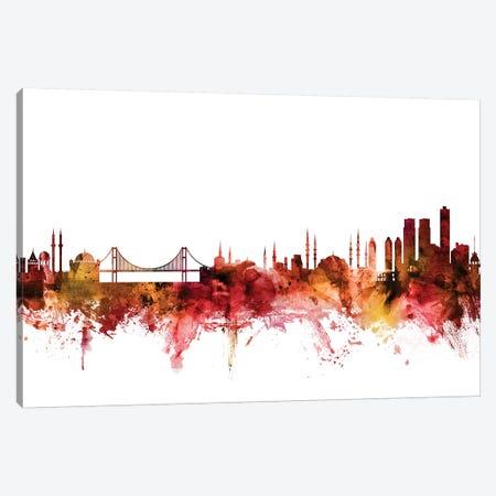 Istanbul, Turkey Skyline Canvas Print #MTO1394} by Michael Tompsett Art Print