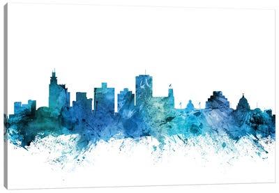 Jackson, Mississippi Skyline Canvas Art Print