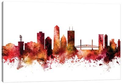 Jacksonville, Florida Skyline Canvas Art Print