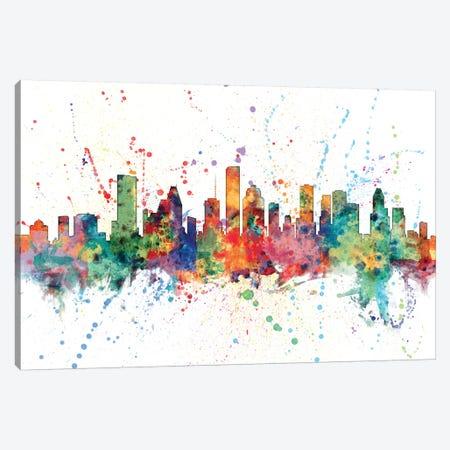 Houston, Texas, USA Canvas Print #MTO139} by Michael Tompsett Art Print