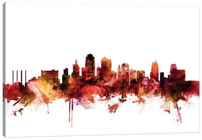 Kansas City, Missouri Skyline Canvas Art Print