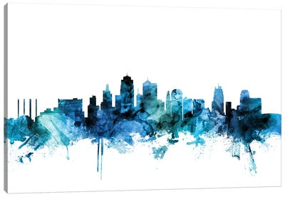 Kansas City, Missouri Skyline Canvas Art Print