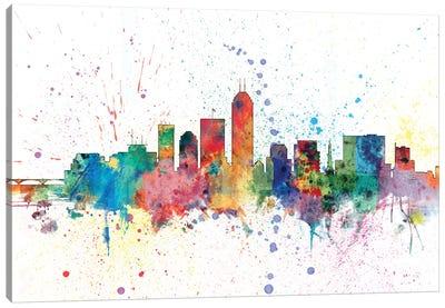 Indianapolis, Indiana, USA Canvas Art Print