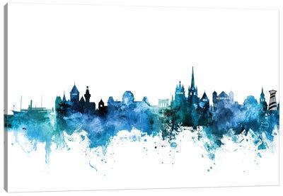 Lausanne, Switzerland Skyline Canvas Art Print