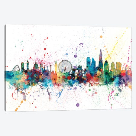 London, England, United Kingdom Canvas Print #MTO142} by Michael Tompsett Canvas Art