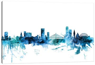 Liege, Belgium Skyline Canvas Art Print