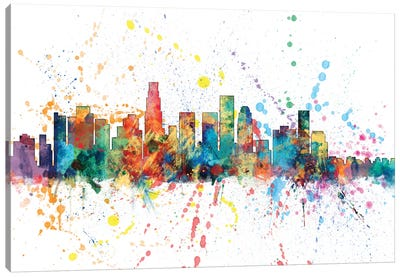 Los Angeles, California, USA Canvas Art Print