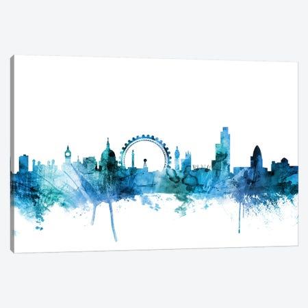 London, England Skyline Canvas Print #MTO1445} by Michael Tompsett Canvas Art Print