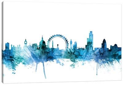 London, England Skyline Canvas Art Print