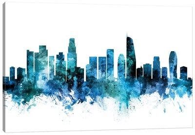 Los Angeles, California Skyline Canvas Art Print