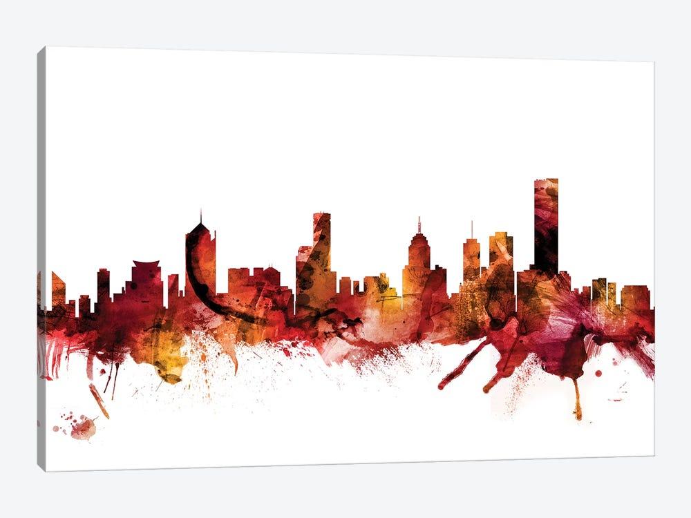 Melbourne, Australia Skyline by Michael Tompsett 1-piece Canvas Wall Art