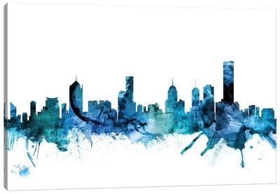 Melbourne, Australia Skyline Canvas Art Print