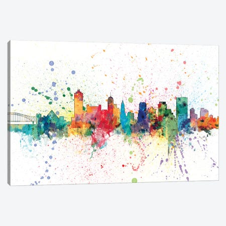 Memphis, Tennessee, USA Canvas Print #MTO146} by Michael Tompsett Canvas Print