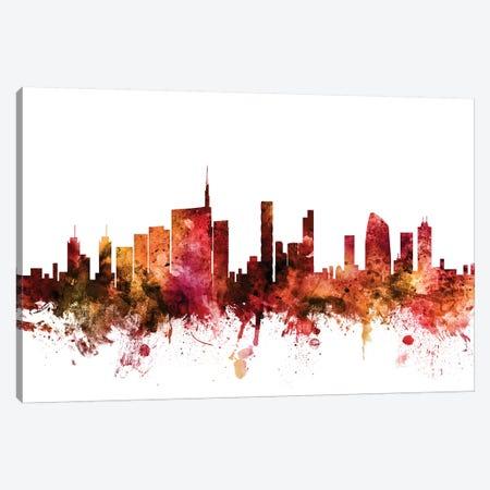 Milan, Italy Skyline Canvas Print #MTO1476} by Michael Tompsett Canvas Wall Art