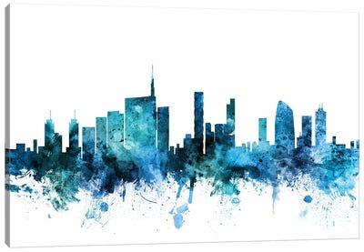 Milan, Italy Skyline Canvas Art Print