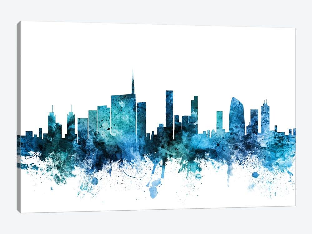 Milan, Italy Skyline by Michael Tompsett 1-piece Canvas Art