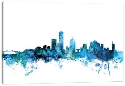Milwaukee, Wisconsin Skyline Canvas Art Print