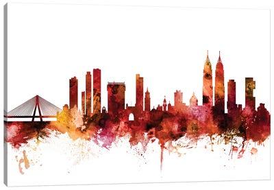 Mumbai, Skyline India  Canvas Art Print