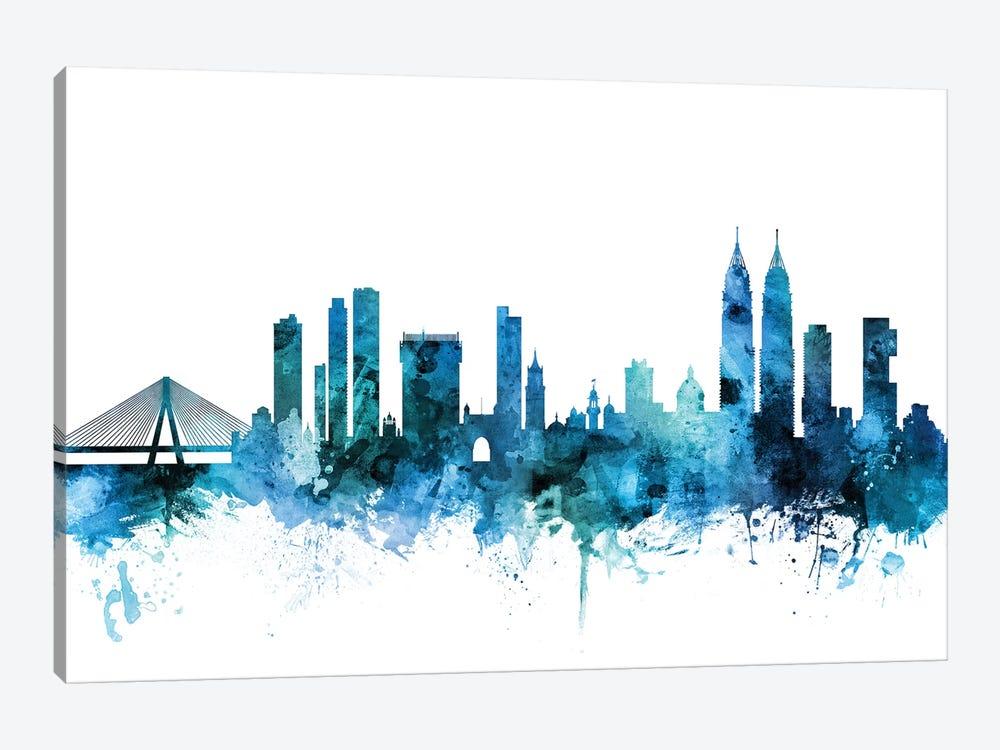 Mumbai, Skyline India  by Michael Tompsett 1-piece Art Print