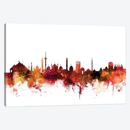 New, Delhi India Skyline Canvas Print #MTO1492} by Michael Tompsett Art Print