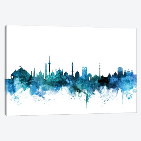 New, Delhi India Skyline Canvas Print #MTO1493} by Michael Tompsett Canvas Print
