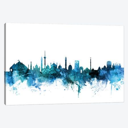 New, Delhi India Skyline Canvas Print #MTO1493} by Michael Tompsett Canvas Print