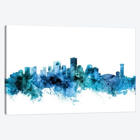 New, Orleans Louisiana Skyline Canvas Print #MTO1495} by Michael Tompsett Canvas Wall Art